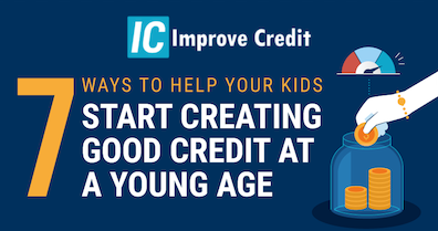 7 Ways To Help Your Kids Start Creating Good Credit At A Young Age